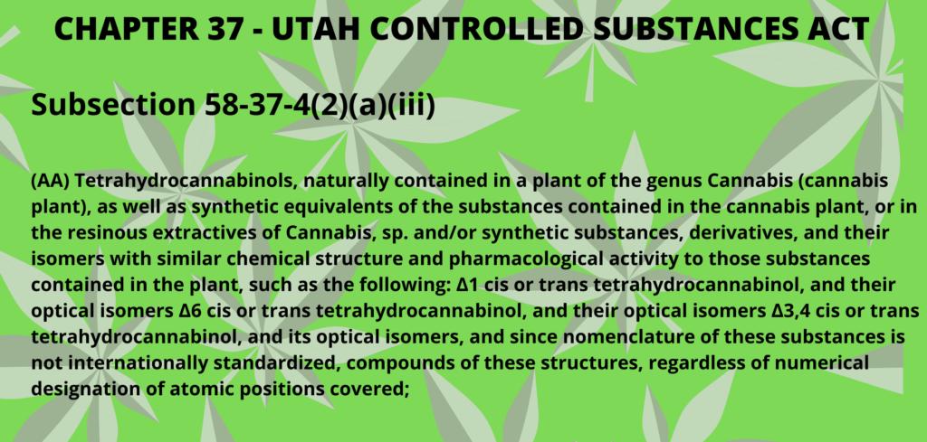 Is Delta 8 THC Legal In Utah?